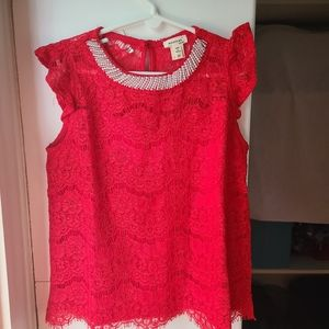 Monteau Girl's lace Top